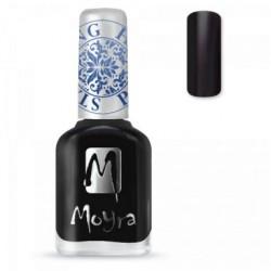 Moyra Stamping  Nail Polish - Black -  SP.06