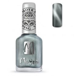Moyra Stamping  Nail Polish - Cat Eye Magnetic Silver-  SP.30