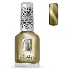 Moyra Stamping  Nail Polish - Cat Eye Magnetic Gold -  SP.31