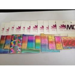 Diverse Foils ER11 - The Rainbow collection